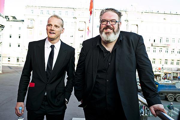 Юрий Колокольников и Кристиан Нэйрн на Московском кинофестивале 19 июня 2014