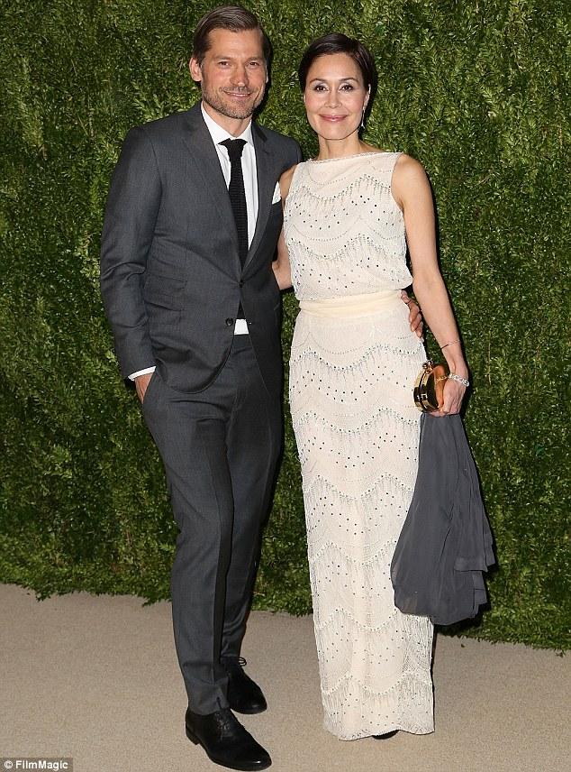 Костер-Вальдау с женой