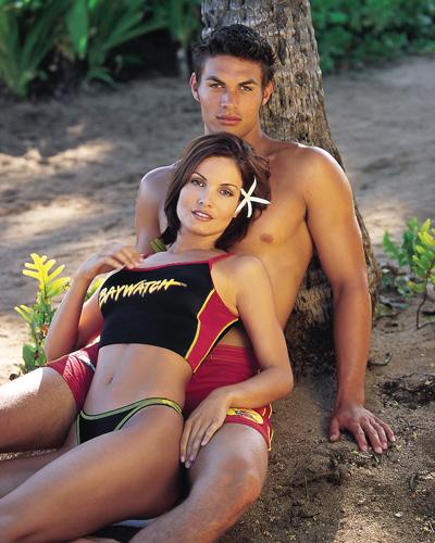 Джейсон Момоа молодой с девушкой