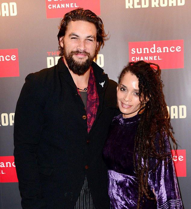 Джейсон Момоа и его жена Лиза Боне