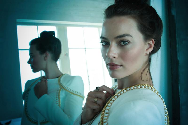 Марго Робби фото из фотосессий за 2014 брюнетка