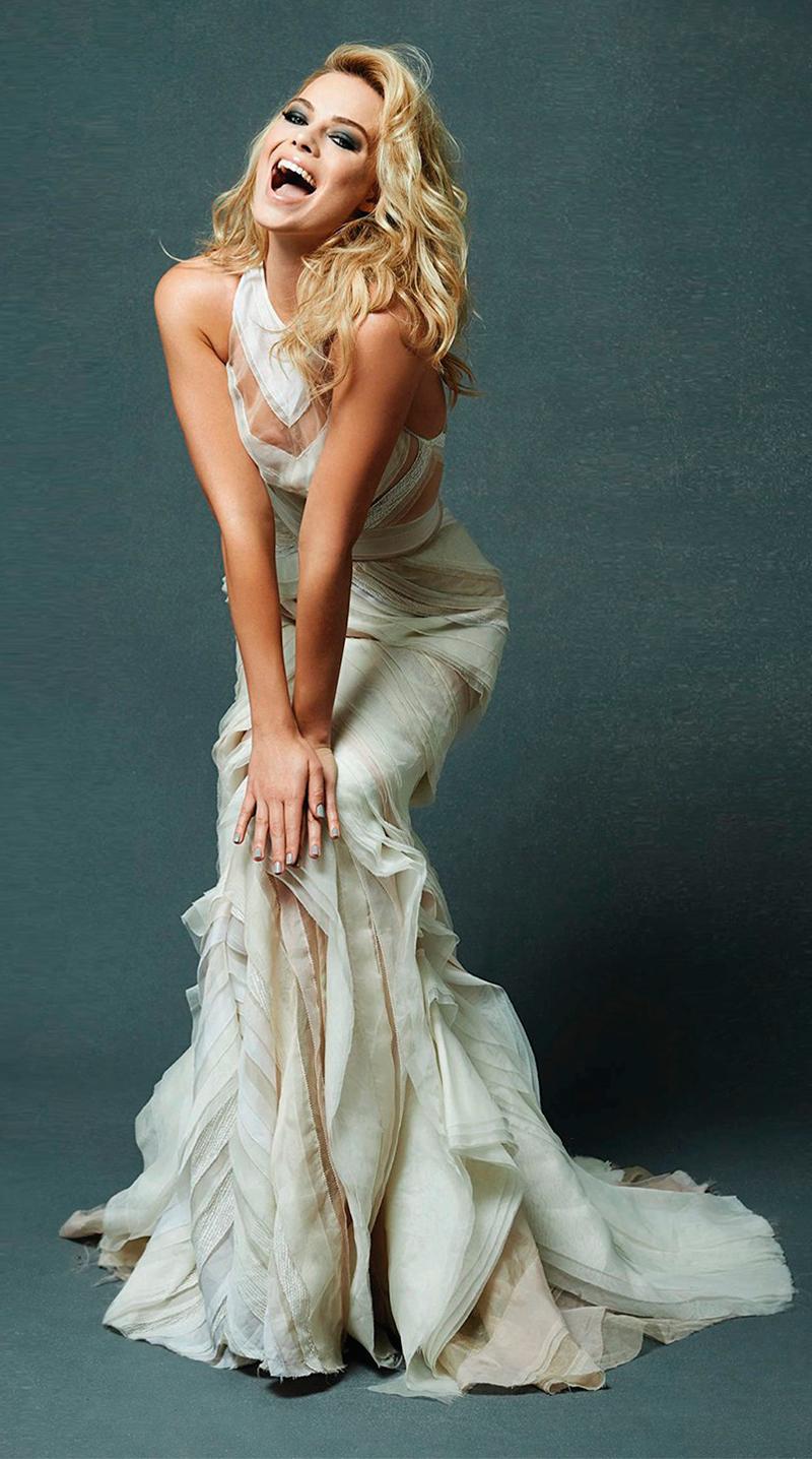 Фотографии Марго Робби за 2013 год вечернее платье