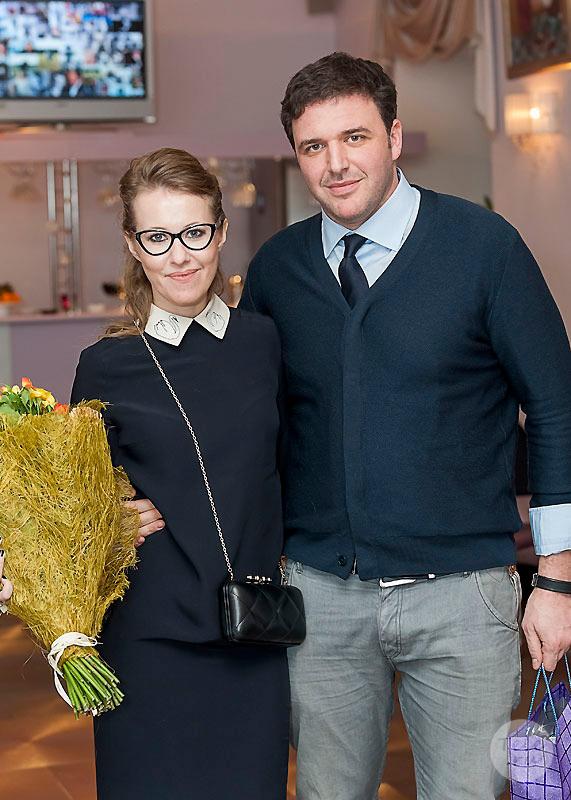 Максим Виторган и Ксения Собчак - 50 лучших совместных фото