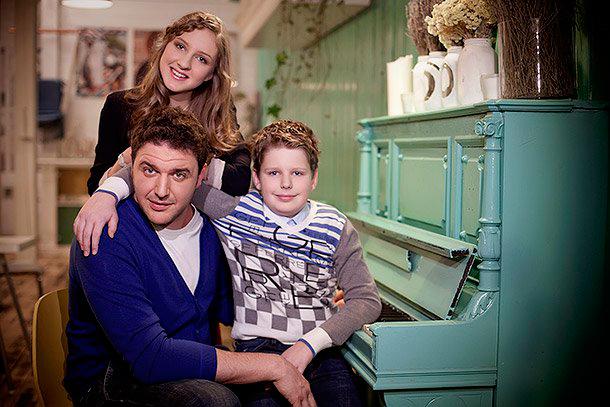 Максим виторган фото с его детьми