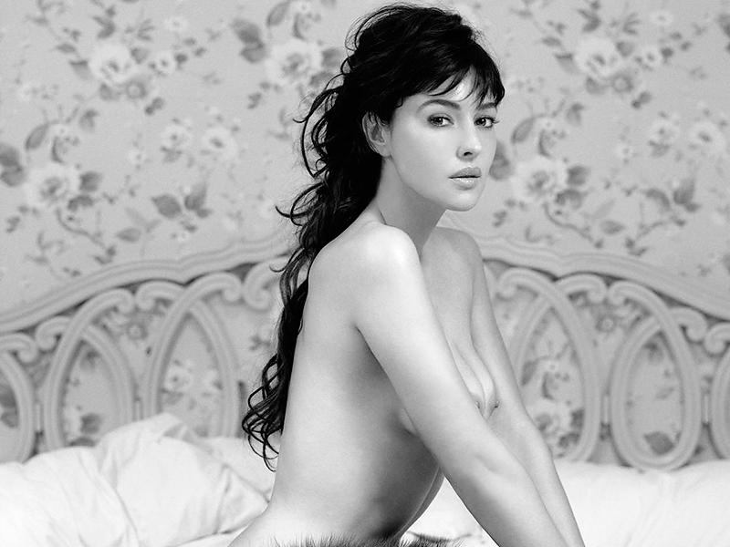 60 качественных фотографий Моники Белуччи в молодости