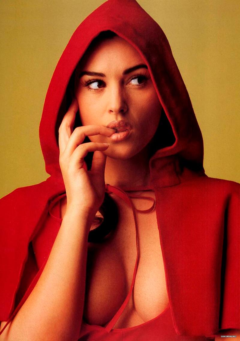 60 качественных фотографий Моники Беллуччи в молодости