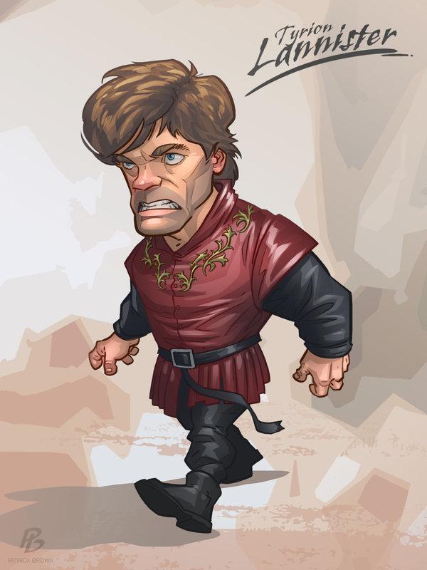 Арты и иллюстрации Игры Престолов Тирион Ланнистер