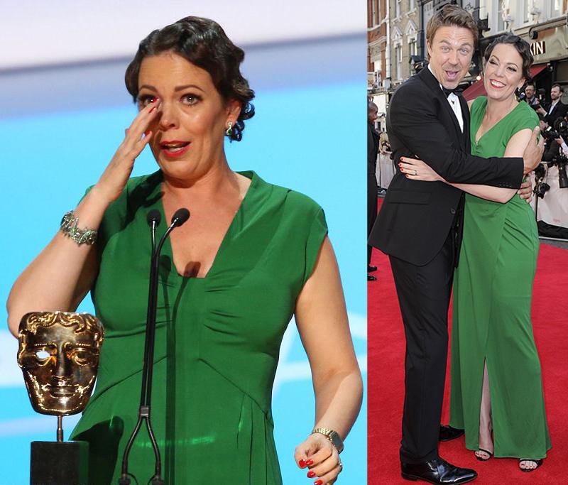 Оливия Колман TV BAFTA 2014