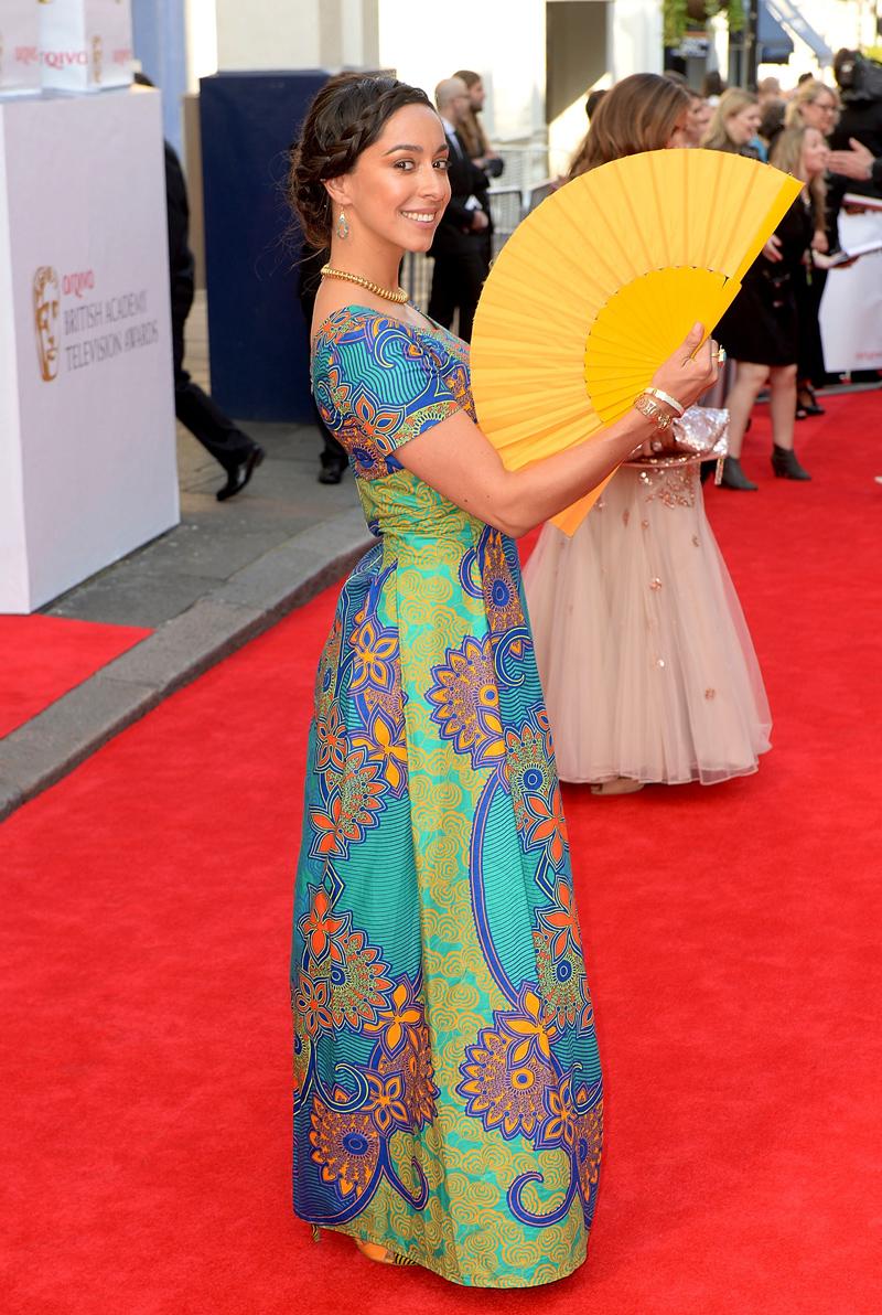 Уна Чаплин TV BAFTA 2014