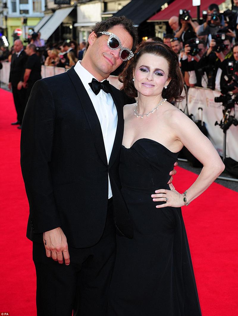 Хелена Бонэм Картер и Доминик Уэст TV BAFTA 2014