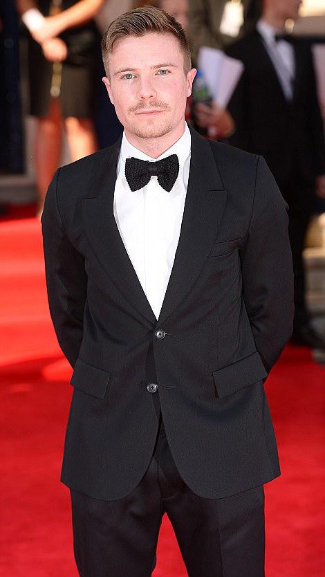 Актер Джозеф Демпси TV BAFTA 2014