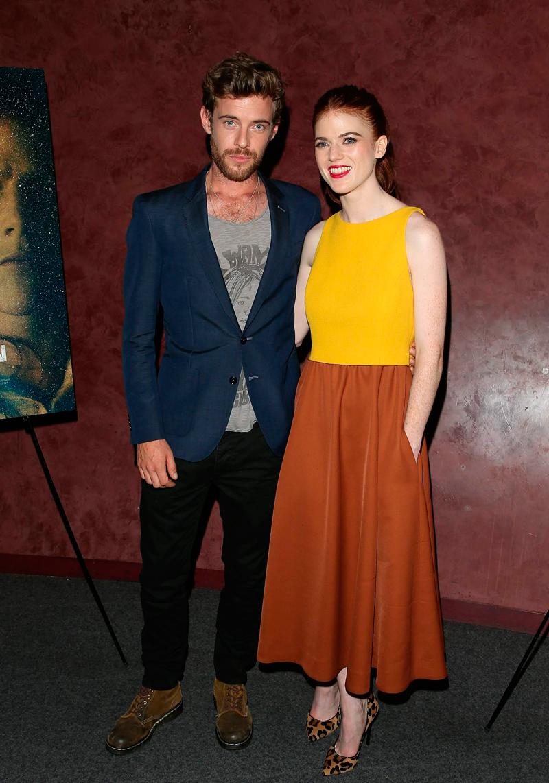 """Роуз Лесли и Гарри Тредэвэй на премьере фильма """"Медовый месяц"""""""
